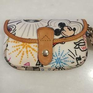 Dooney & Bourke Disney Sketch Flap Wristlet